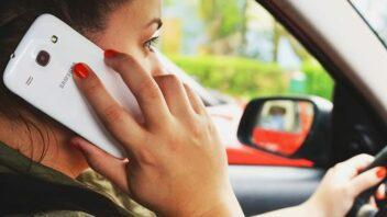 Telefono naudojimas vairuojant Nyderlanduose