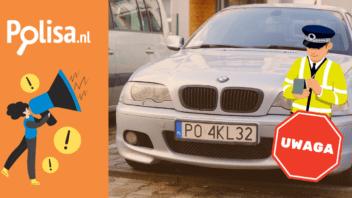 Polowanie na Polskie tablice rejestracyjne w Holandii
