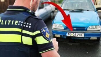 Se urmaresc numerele de înmatriculare românești în Țările de Jos